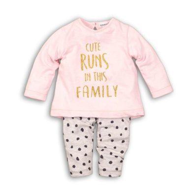 Minoti Dívčí set, tričko a legíny, Minoti, CROWN 5, růžová