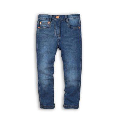 Minoti Kalhoty dívčí džínové s elastenem, Minoti, FRENCH 8, modrá