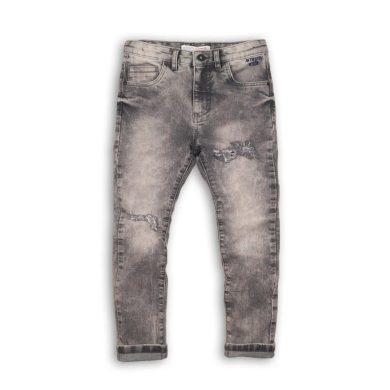 Minoti Kalhoty chlapecké džínové s elastenem, Minoti, LUXE 10, šedá