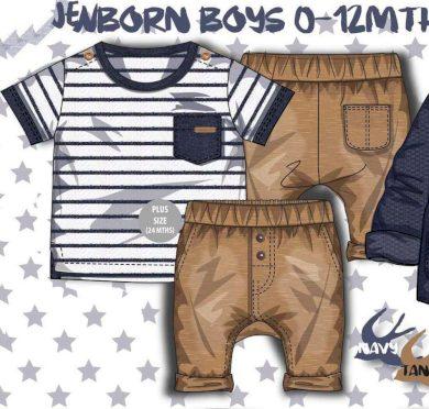Minoti Chlapecký set, košile a kalhoty, Minoti, TIDE 1, kluk