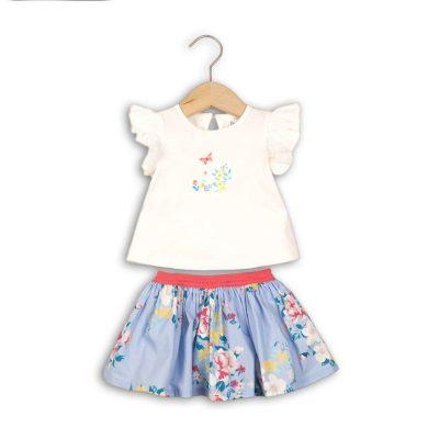 Minoti Dívčí set, tričko a sukně, Minoti, ROSE 5, holka