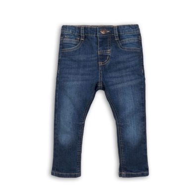 Minoti Kalhoty chlapecké džínové s elastenem, Minoti, REAL 4, modrá