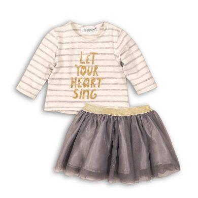 Minoti Dívčí set , tričko a sukně TUTU, Minoti, SWAN 2, holka