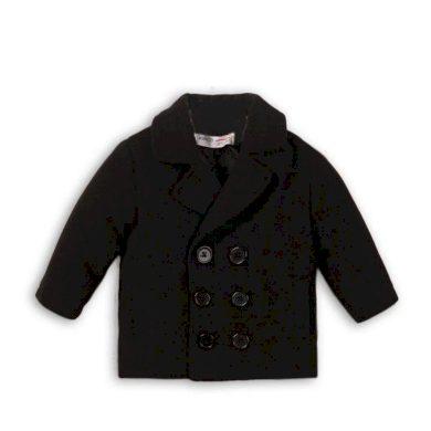 Minoti Kabát chlapecký vlněný, Minoti, MONSTER 12, černá