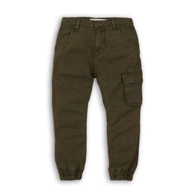 Minoti Kalhoty chlapecké kapsové, Minoti, YAY 7, zelená