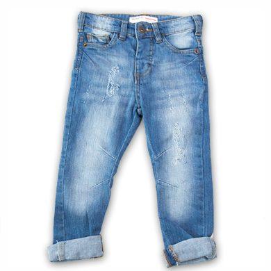 Minoti Kalhoty chlapecké džínové s elastenem, Minoti, YAY 11, modrá
