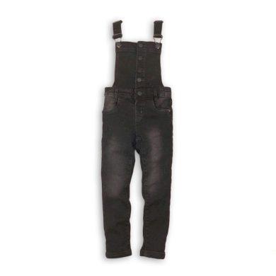 Minoti Kalhoty dívčí laclové, Minoti, TWIST 5, černá