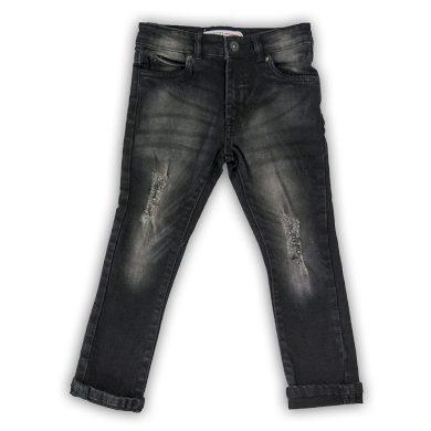 Minoti Kalhoty džínové chlapecké, Minoti, WORD 8, černá