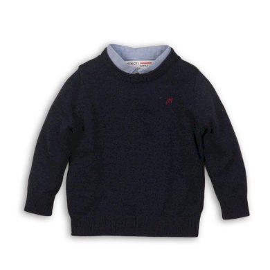 Minoti Svetr chlapecký se vsazenou košilí, Minoti, FORMAL 5, kluk