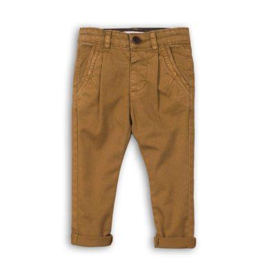 Minoti Kalhoty chlapecké Chino, Minoti, FORMAL 10, hnědá