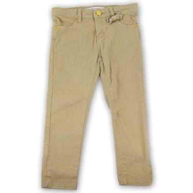 Minoti Kalhoty dívčí s elastenem s mašlí, Minoti, ENCHANTED 5, hnědá