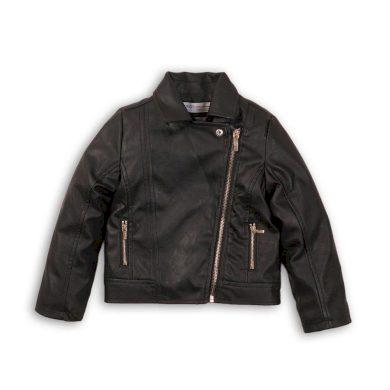 Minoti Bunda dívčí koženková Biker, Minoti, PETAL 10, černá