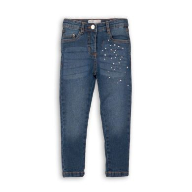 Minoti Kalhoty dívčí džínové s elastenem, Minoti, MERGE 10, holka