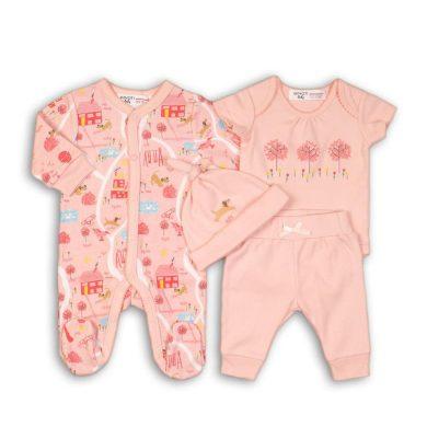Minoti Dárkový set kojenecký, Minoti, PARK 3, růžová