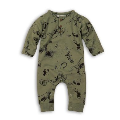 Minoti Overal kojenecký bavlněný, Minoti, Yo 4, khaki