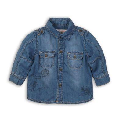 Minoti Košile chlapecká, Minoti, YO 7, modrá