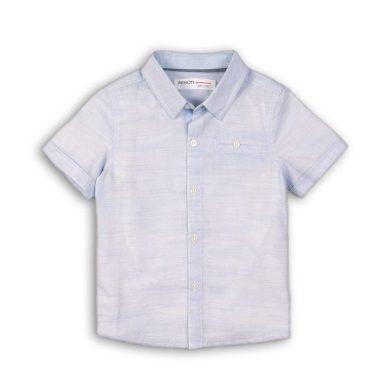 Minoti Košile chlapecká s krátkým rukávem, Minoti, Shore 1, světle modrá