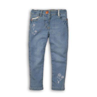 Minoti Kalhoty dívčí džínové s elastenem, Minoti, Secret 9, modrá