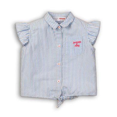 Minoti Košile dívčí na zavazování, Minoti, Hut 5, modrá
