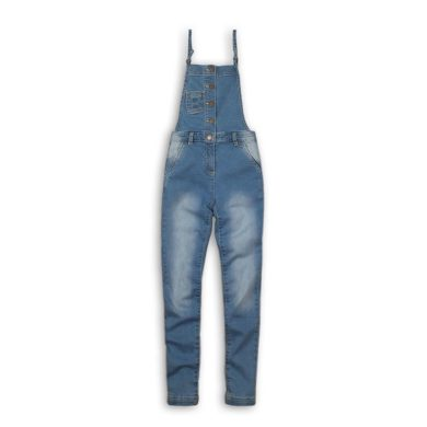 Minoti Kalhoty dívčí džínové s laclem, Minoti, Tumbleweed 10, modrá