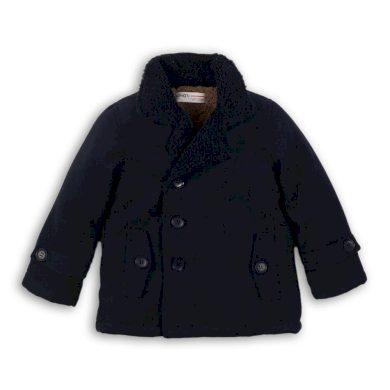 Minoti Kabát chlapecký vlněný podšitý chlupem, Minoti, DEPT 11, tmavě modrá