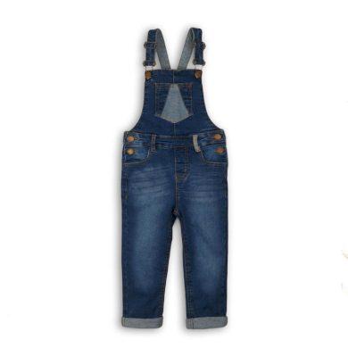 Minoti Kalhoty dívčí džínové a laclem, Minoti, LODGE 4, modrá