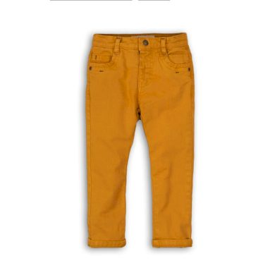Minoti Kalhoty chlapecké s elastenem, Minoti, NORTH 10, žlutá