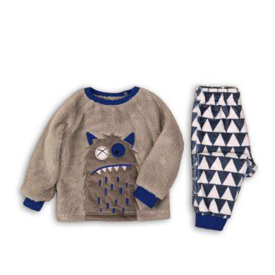 Minoti Pyžamo chlapecké fleezové, Minoti, FLUFF 2, kluk
