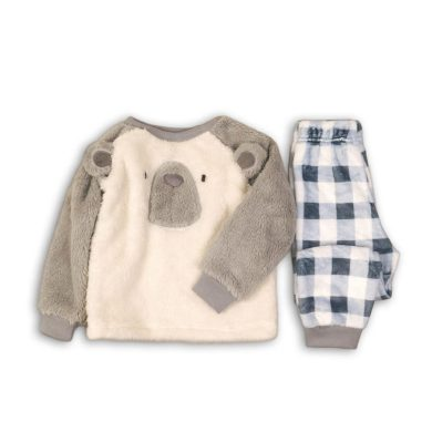 Minoti Pyžamo chlapecké fleezové, Minoti, FLUFF 4, kluk