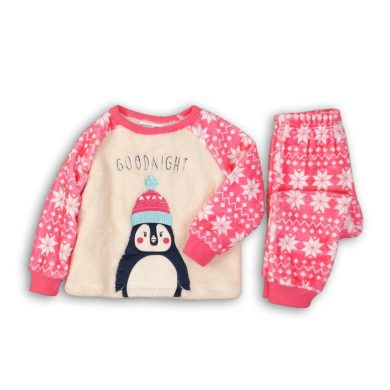 Minoti Pyžamo dívčí fleezové, Minoti, FLUFF 5, holka