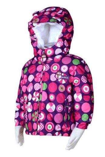 Pidilidi bunda zimní s kožíškem, Pidilidi, PD979, růžová