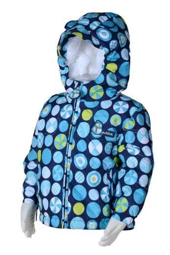 Pidilidi bunda zimní s kožíškem, Pidilidi, PD979, modrá