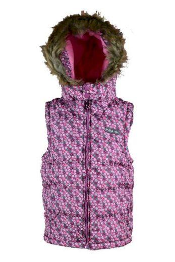 Pidilidi vesta dívčí PUFFY, Pidilidi, PD1011-03, růžová
