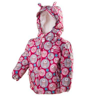 Pidilidi bunda zimní s kožíškem, Pidilidi, PD1035-03, růžová