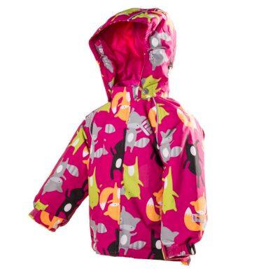 Pidilidi bunda dětská zimní nepromokavá, Pidilidi, PD1039-01, holka