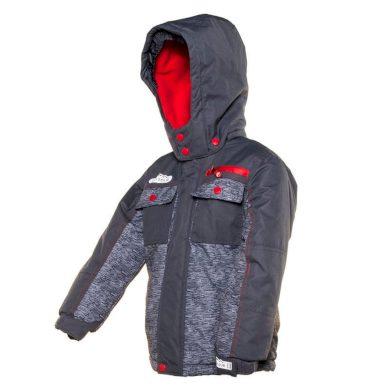 Pidilidi bunda zimní chlapecká, Pidilidi, PD1044-09, šedá