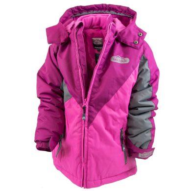 Pidilidi bunda zimní dívčí, Pidilidi, PD1050-03, růžová