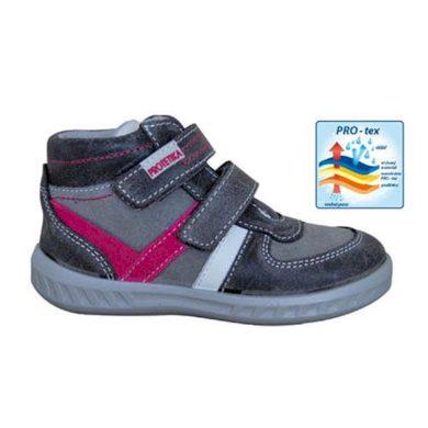 Protetika obuv dětská celoroční SENDY, Protetika, šedá