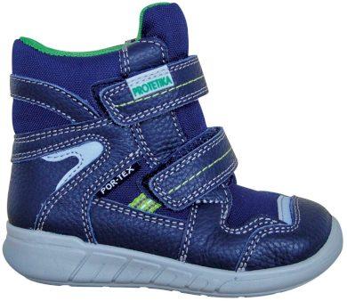 Protetika obuv chlapecká zimní SANTO, Protetika, modrá