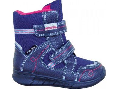 Protetika obuv dívčí zimní s PROtex membránou DENERIS NAVY, Protetika, modrá