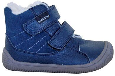 Protetika obuv dívčí zimní barefoot PROtex membránou KABI DENIM, Protetika, modrá