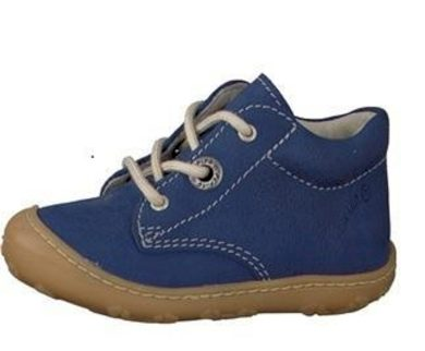 Ricosta Kožené celoroční botičky Cory, Ricosta, 12226-156, modrá