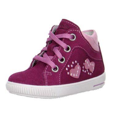 Superfit Dívčí celoroční boty MOPPY, Superfit, 0-00042-37, růžová