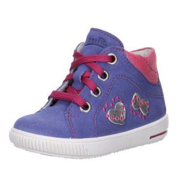 Superfit Dívčí celoroční boty MOPPY, Superfit, 0-00042-77, fialová