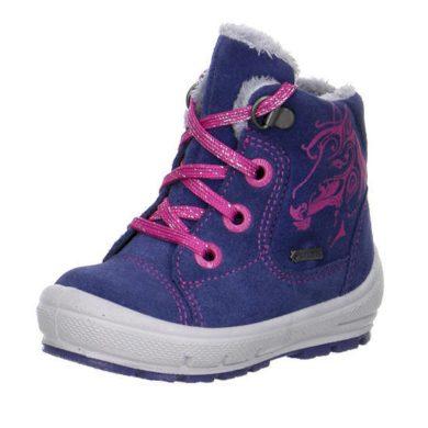 Superfit Dívčí zimní boty GROOVY, Superfit, 1-00312-88, modrá