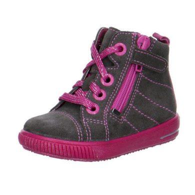Superfit dětská celoroční obuv MOPPY, Superfit, 1-00350-06, šedá