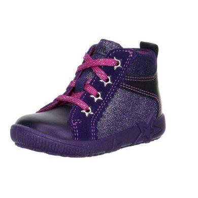 Superfit Dívčí celoroční obuv STARLIGHT, Superfit, 1-00436-54, fialová