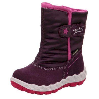 Superfit dívčí zimní boty ICEBIRD GTX, Superfit, 3-00012-90, vínová