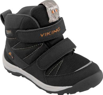 Viking dětská zimní obuv Rissa GTX, black/orange, Viking, 3-86040-231, černá
