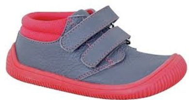 Protetika dívčí boty Barefoot RONY KORAL, Protetika, červená